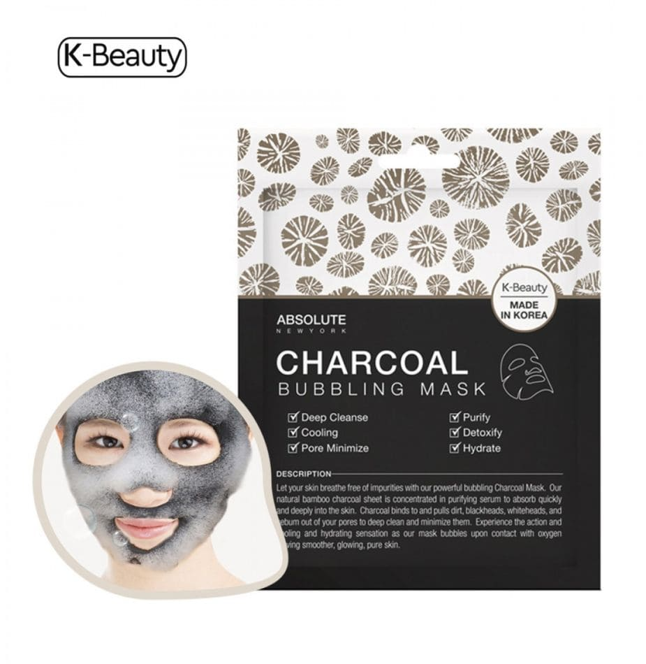 Absolute New York Charcoal Bubbling Mask
