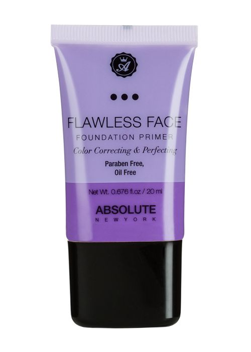 Absolute New York Flawless Face Foundation Primer Lavender NF082
