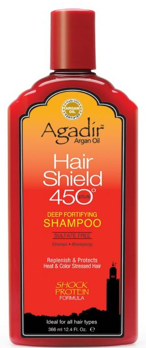 Agadir Argan Oil Hair Shield 450 Deep Fortifying Shampoo 12 oz