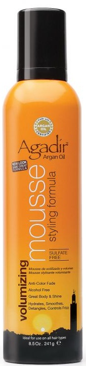 Agadir Argan Oil Volumizing Styling Mousse 8.5 oz