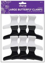 Diane Butterfly Clamps Large 12-Pack D13