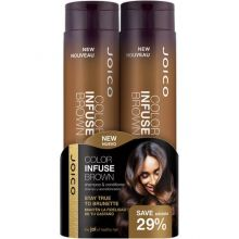 Joico Color Infuse Brown Shampoo & Conditioner Duo 10.1 oz