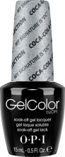 """OPI GelColor My Signature Is """"DC"""""""